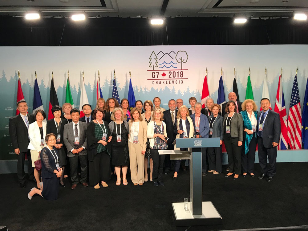 LA MALBAIE - CANADA  - G7 VERTICE DEI CAPI DI STATO E DI GOVERNO