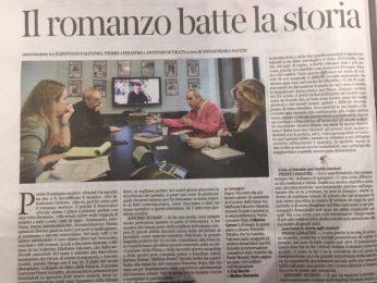 La nostra socia Rossano Ottolini interprete per Ildefonso Falcones